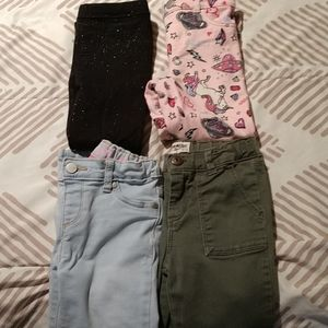 Toddler Pants- 4 Pairs